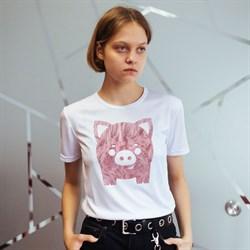 """Футболка Fashion wool pig"", женская"